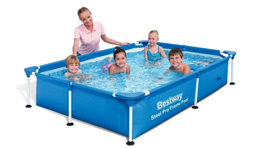 Bestway Splash Jr- Frame Pool 221x150x43cm 56401