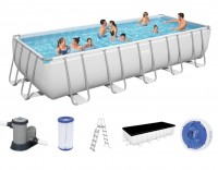 Bestway Rectangular Frame Pool Set 640 x 274 5611Z
