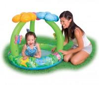 INTEX Baby Pool Jungle Flower mi Schmetterlingen 57419