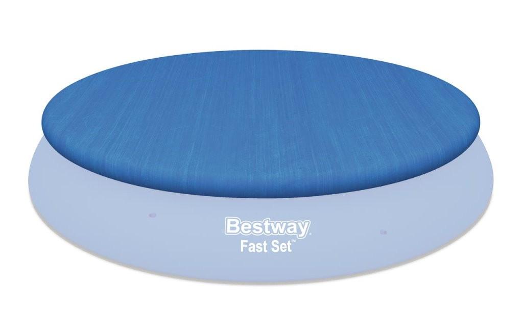 Bestway Abdeckplane 457 cm für Fast-Set Pools BW-58035