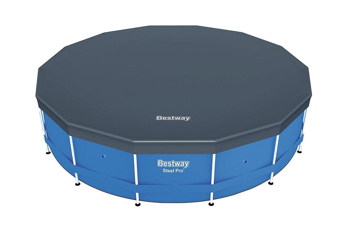 bestway steel pro frame pool 366x122 komplettset 56420 gs frame pools hersteller bestway. Black Bedroom Furniture Sets. Home Design Ideas