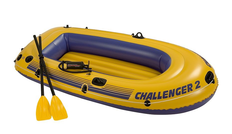 Intex Schlauchboot Challenger 2 Set 68367