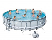 Bestway Steel Pro Pool Set 671x132 mit Sandfilter 56634