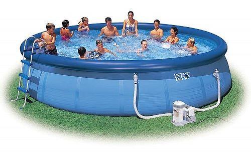 INTEX Swimming Pool EASY SET 549x122 Komplettset 56905 GS