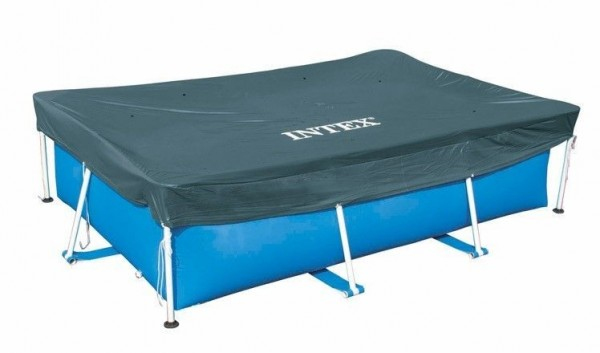 Intex Abdeckplane 300x200 cm für Frame Pools 28038