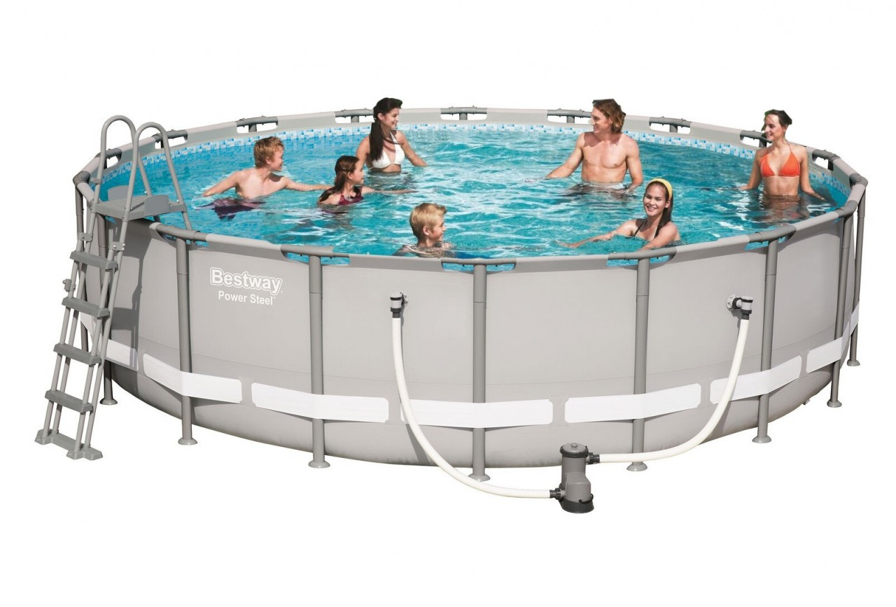 Bestway Steel Pro Pool Set 549x132 56427