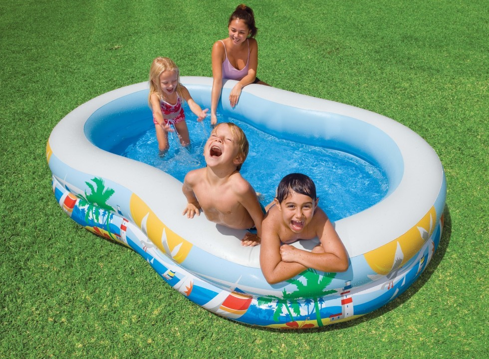 INTEX Swim Center Paradise Seaside Pool 56490