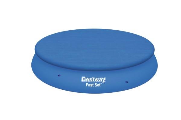Bestway Abdeckplane 366 cm für Fast-Set Pools BW-58034