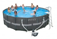 Intex Ultra XTR Frame Pool-Set 488x122 mit Sandfilter 26326