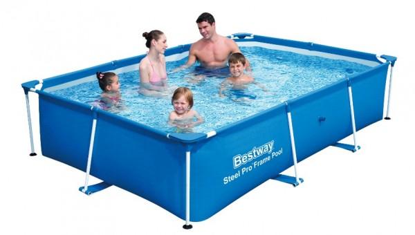 Bestway Deluxe Splash Frame Pool 259x170x61cm 56403