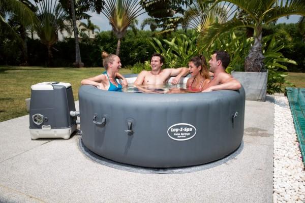 "Bestway HydroJet WhirlPool ""Lay Z-Spa"" Palm Springs 196x71 54144"