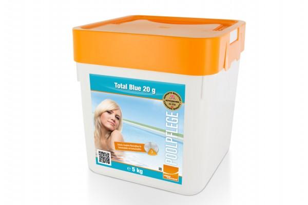 Einfache Komplett-Wasserpflege Total Blue 20 5 Kg