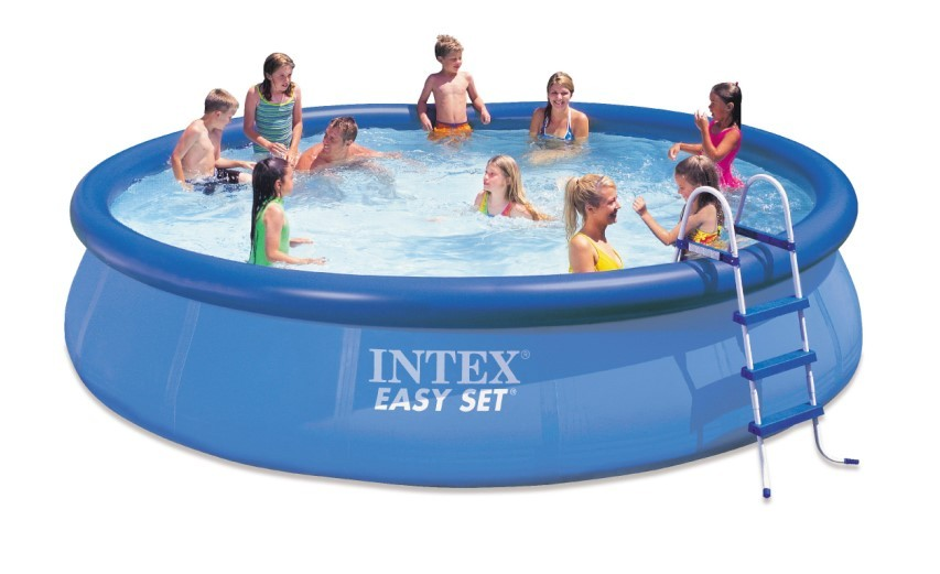 INTEX Swimming Pool EASY SET 457x107 Komplettset 28166 - 54908GS
