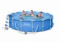 Bestway Metal Frame Pool Komplett Set 427x100 56422