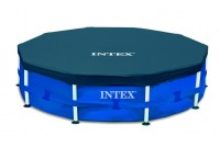 Intex Abdeckplane 366 cm für Metal Frame Pools 28031