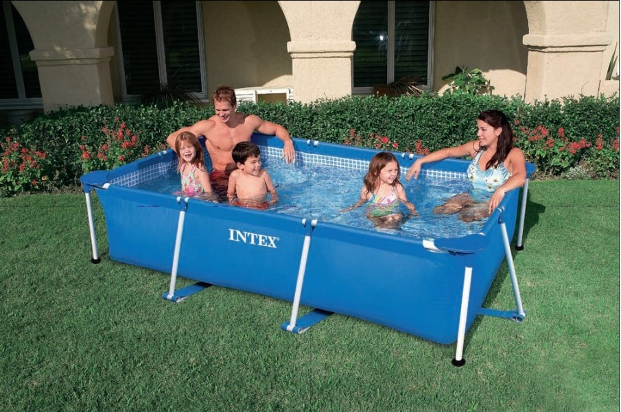 INTEX Swimming Pool Family Frame 220x150x60cm 28270