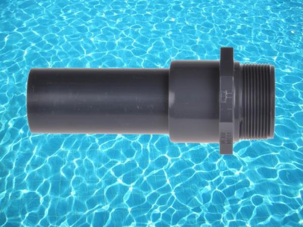 "38mm Schlauchadapter Verbindungsstück 1x 2"" AG auf 50mm 280032"