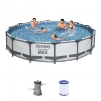 Bestway Steel Pro Max Pool Komplett Set 427x84 56595