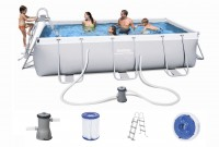 Bestway Power Steel Pool Set 404 x 201 56441 GS