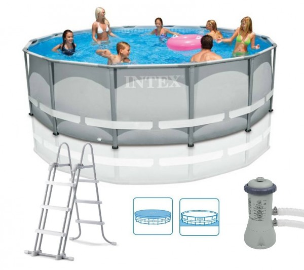 Intex Ultra-Metal-Frame Pool-Set 427x107 28310