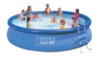 INTEX Swimming Pool EASY SET 457x107 Komplettset 28166 / 54908GS