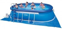 INTEX Swimming Pool Oval-Frame 366x610x122 ECO 28194 GS