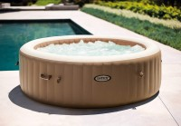 Whirlpool PureSpa Intex SPA XXL Bubble Therapy+Kalkschutz 28428